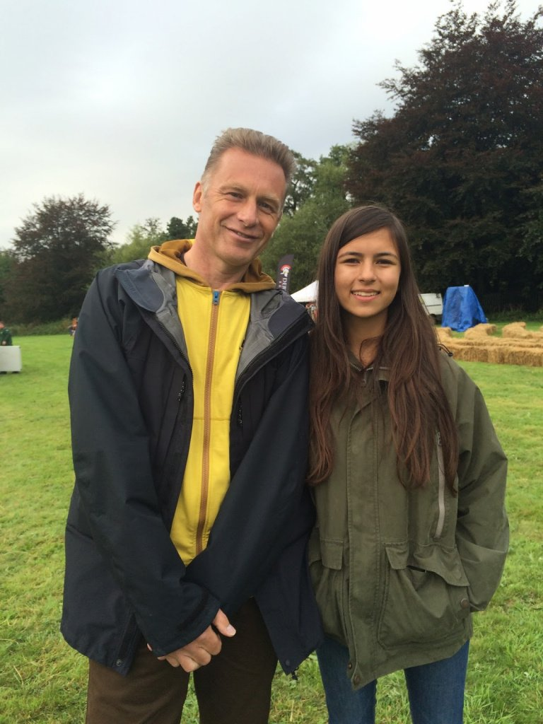 Nature Connections Festival and meeting Chris Packham