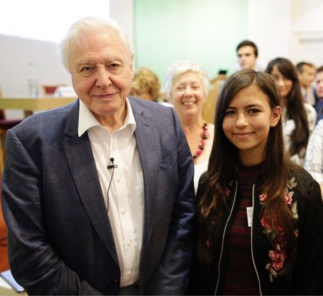 A laugh with Sir David Attenborough and hitting 1.5 million views…Wow!