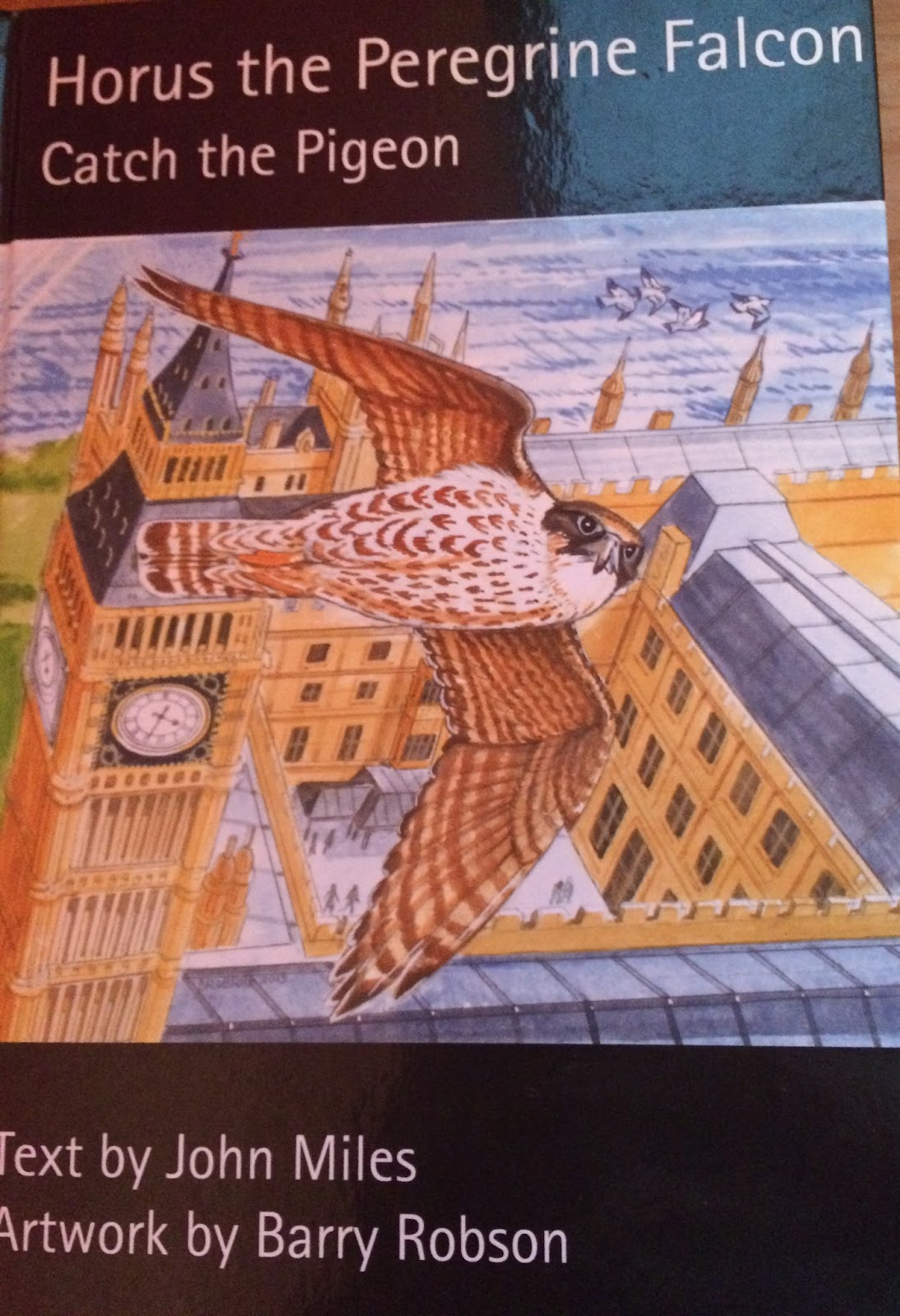 Horus the Peregrine Falcon and series of books